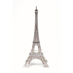Tour Eiffel Merci Gustave Silver bling